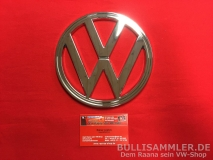VW Bus T2 T2b 74-79 VW-Emblem vorne Chrom ORIGINAL VW (-077)